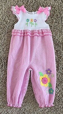 Good Lad Toddler Girls One Piece Romper Outfit. Size 18 Months.