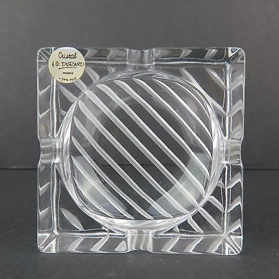 J.G. Durand Cristal French Crystal Ashtray