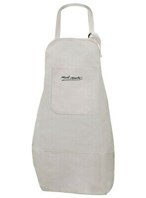 Mont Marte Artist Apron Heavy Duty Calico Adults Art Apron 100%Cotton w 5Pockets