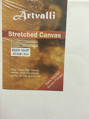 "Artist Canvas Thick Blank Canvas 16""X32"" / 40cmX80cm  Wholesale Bulk Craft Art"