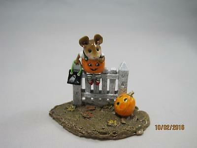 Wee Forest Folk Pickity Pumpkin - Retired in WFF Box