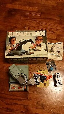Armatron  by Radio Shack 1980s # 60-2364 Booklet, Original Receipt, Stickers !!