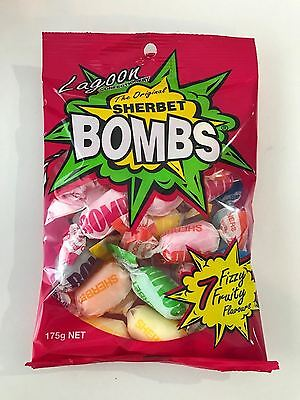 700g xThe Original SHERBET Frizzy Fruity  Lolly Candy Buffet Sweets Lollies