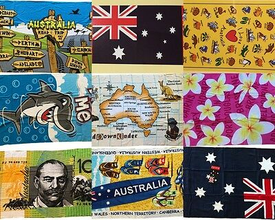 Australian Souvenir Beach Towel 100%Cotton 30''X60'' Australia Bath Towels
