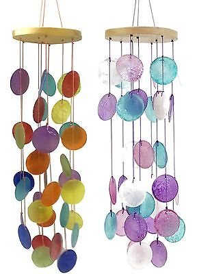 New 45cm Capiz Shell Mobile Windchime Beautiful Home Decor  Gift