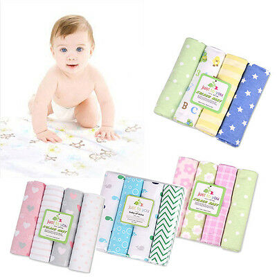 4pcs/lot NEW cotton flannel baby blanket baby bedsheet supersoft blanket waddle