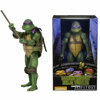 "NEW 1/4 17"" Scale TEENAGE MUTANT NINJA TURTLES DONATELLO FIGURE TOY NECA"