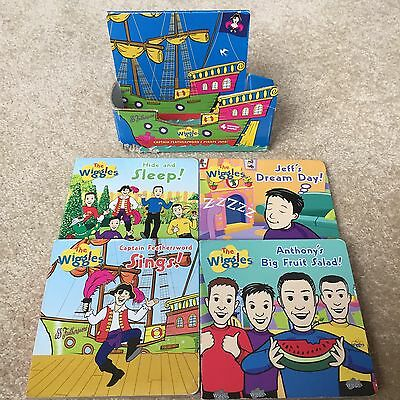 The Wiggles Captain Feathersword Ship box set of 4 books