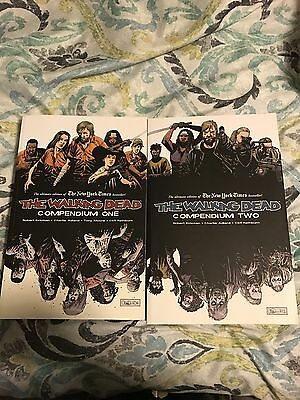 The Walking Dead Compendium 1 And 2 Lot