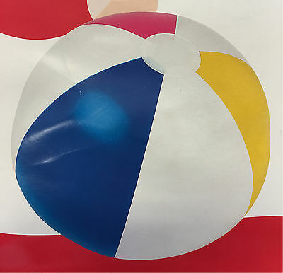Swimming Pool Toy Fun Infatable Beach ball  Two Size 20''/24'' 51cm/61cm