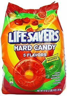 Lifesavers 5 Flavours Hard Candy Bag 1.16 kg