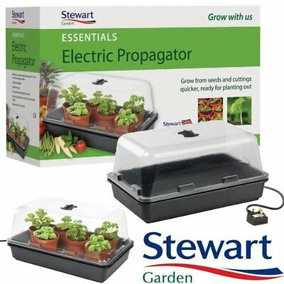 Stewart Essentials Electric Propagator, 38 cm - Black
