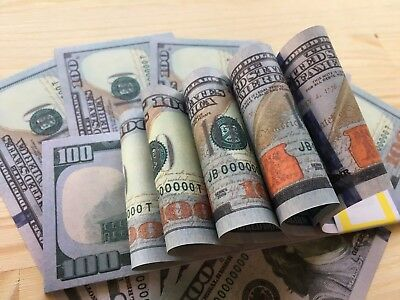$10,000 Cash Full Print Game Size New Style $100 Invalid Fake Action Movie Money