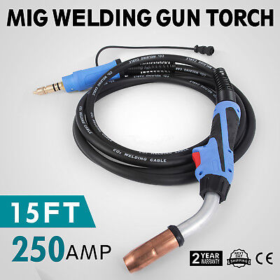 MIG WELDING GUN &TORCH Stinger 15FT 250Amp replacement for Miller M25 169598