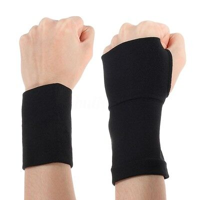 2x Arthritis Gloves Compression Support Hand Wrist Brace Relief Carpal Pain