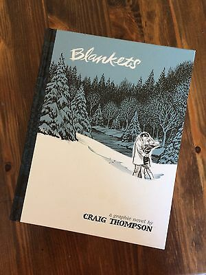 Blankets by Craig Thompson A Graphic Novel Brand New Perfect Condition