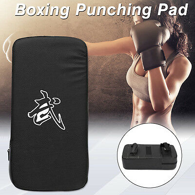 Muay Thai MMA Boxing Kick Punching Bag Pad Foot Target Training Martial Arts