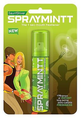 Spraymintt Mouth Freshener (Saunfshiver)  pack of 5 free shipping