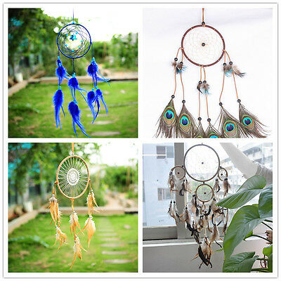 Fashion Dream Catcher With Feather Car Wall Hanging Decoration Ornament Craft