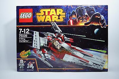 Lego Set 75039 Star Wars V-Wing Starfighter Astromech Driod V-Wing Pilot - NEW