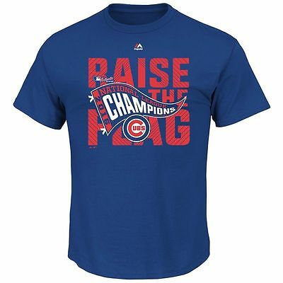Chicago Cubs 2016 Mlb World Series Champions T-Shirt - Brand New With Tags
