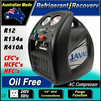 Refrigerant Recovery / Reclaim / Charging Unit System / R134a - R410a Capable