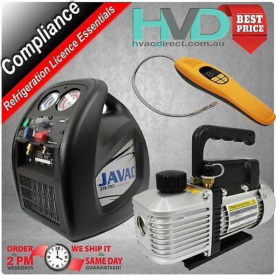 Compliance Pack for Licencing,  Vacuum Pump,  Recovery Unit,  Leak Detector