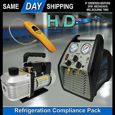Refrigeration Licence Requirements- Vacuum Pump - Recovery Unit - Leak Detector