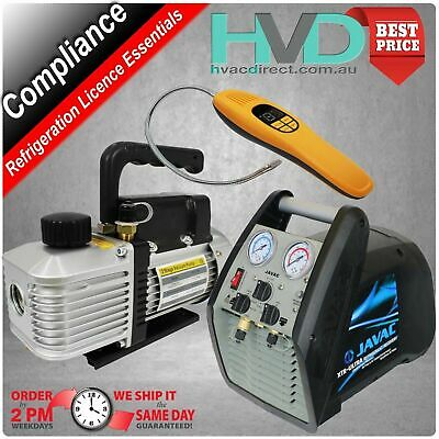 Compliance Pack for Licencing - Vacuum Pump - Recovery Unit - Leak Detector