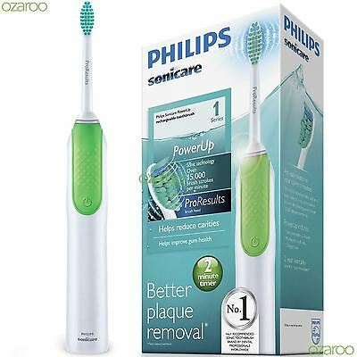 Philips Sonicare ProResults Electric Rechargeable Power Toothbrush, Green HX3110