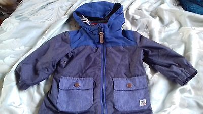 Baby boy, Next, Blue Jacket, 12-18months