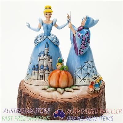 Jim Shore Disney Traditions CINDERELLA CARVED BY HEART figurine 4037503