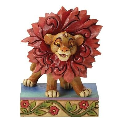 Jim Shore Disney Traditions SIMBA JUST CANT WAIT TO BE KING LION KING figurin...