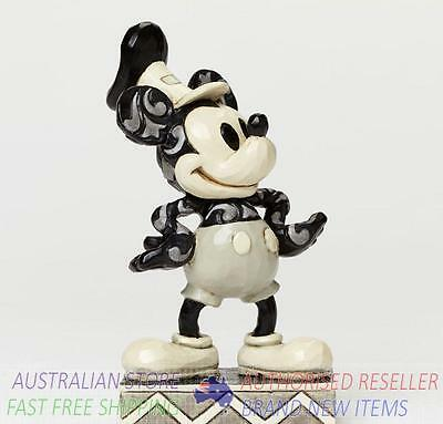 Jim Shore Disney Traditions STEAMBOAT WILLIE MICKEY MOUSE figurine 4045245 BNIB