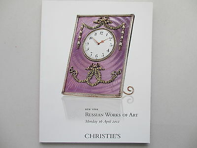 Russian Works of Art. Christie's, New York. 16 April, 2012