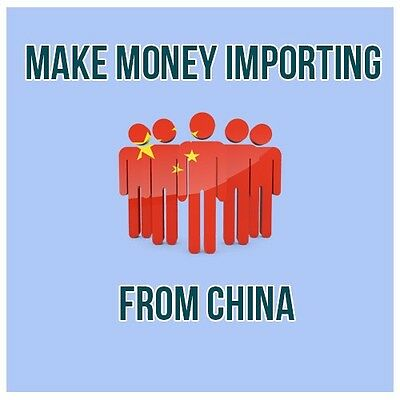 Make Money Online Importing From China !! Work From Home!!!