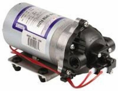 SHURFLO 1.8 GPM Pump,Diaphragm, 60PSI Demand Switch, 3/8 ports ( Can run Dry)