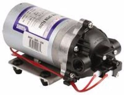 Shurflo 1.8 GPM Pump,Diaphragm 60 PSI Demand Switch 3/8 ports (Can run Dry)