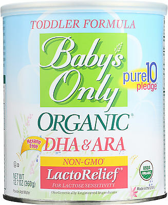 Babys Only Organic Toddler Formula - Organic - LactoRelief - Lactose Free