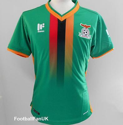 ZAMBIA Official Mafro Home Shirt 2017/18 NEW S,M,L,XL,XXL Jersey 17/18 Football
