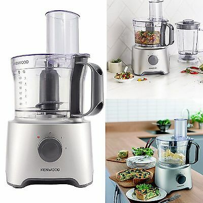 Kenwood KE-FDP301S 2.1 Litre 800 Watt Multi Pro Compact Food Processor - Silver