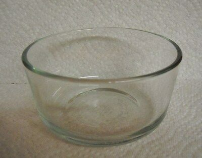 MSE 2 Cup Glass Bowl (6328)