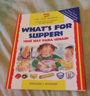 I can read Spanish: What's for supper? - Book
