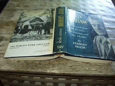 BILLY GRAHAM by Stanley High Hardback with d/j