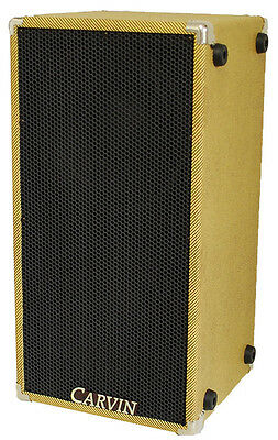 Carvin Bass Cabinet 210MBE Tweed 2x10 8 Ohm