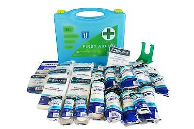 Qualicare HSE Premier First Aid Catering Kit with Wall Bracket (1-20 Person)