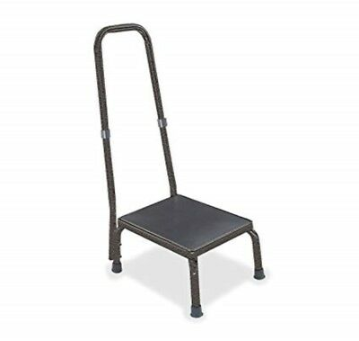 Hausmann Model 2030 Foot Stool with Safety Handrail
