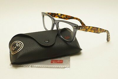 Ray Ban RB5121 5629 Opel Grey/Tortoise Unisex Eyeglasses DEMO LENSES /UA14-3/26