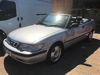 Saab 9-3 2.0T 1998 SE Turbo leather convertible low miles