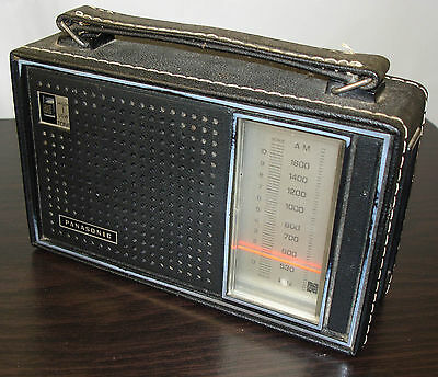 Panasonic Transistor AM Radio, Model R-1449, Matsushita, Japan, parts or repair
